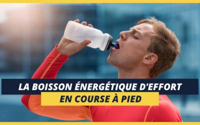 La boisson énergétique d'effort en course à pied